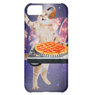 dj cat - cat dj - space cat - cat pizza iPhone 5C case