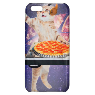 dj cat - cat dj - space cat - cat pizza iPhone 5C cover