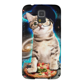 dj cat - space cat - cat pizza - cute cats cases for galaxy s5