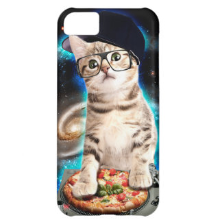 dj cat - space cat - cat pizza - cute cats iPhone 5C case