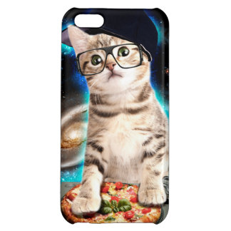 dj cat - space cat - cat pizza - cute cats iPhone 5C cover