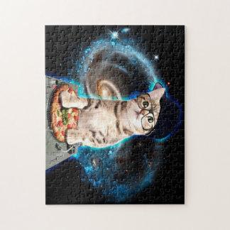 dj cat - space cat - cat pizza - cute cats jigsaw puzzle