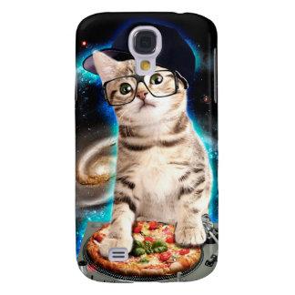 dj cat - space cat - cat pizza - cute cats samsung galaxy s4 case