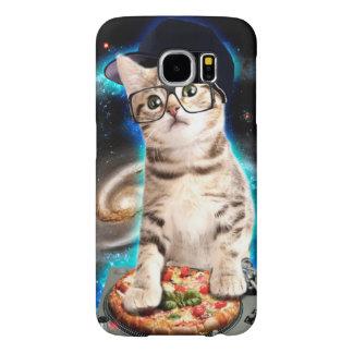 dj cat - space cat - cat pizza - cute cats samsung galaxy s6 cases