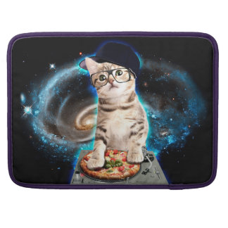 dj cat - space cat - cat pizza - cute cats sleeve for MacBooks