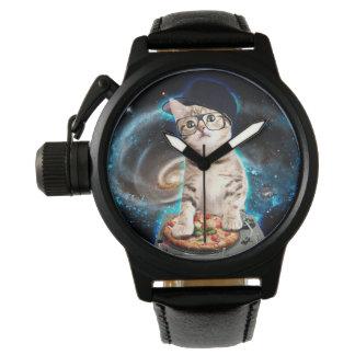 dj cat - space cat - cat pizza - cute cats watch