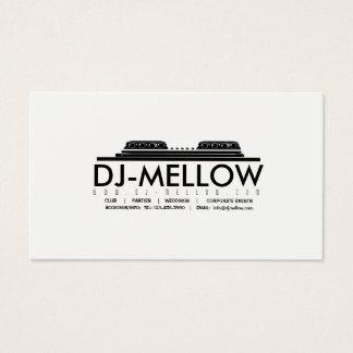 DJ CD Turntable Business Card