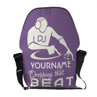 DJ custom messenger bag