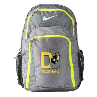 DJ custom name backpacks Backpack