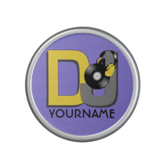 DJ custom name & color Bluetooth speaker