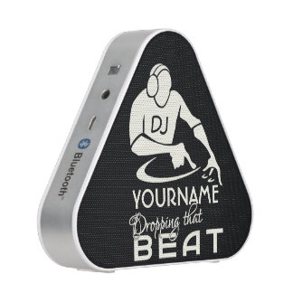 DJ custom name & color Bluetooth speaker