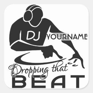 DJ custom stickers
