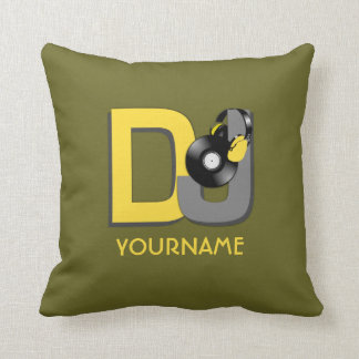 DJ custom throw pillow Cushions