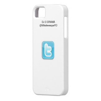DJ D DRAMA iPhone 5 Twitter Series Case White Barely There iPhone 5 Case