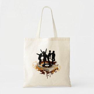 DJ Dancers Budget Tote Bag
