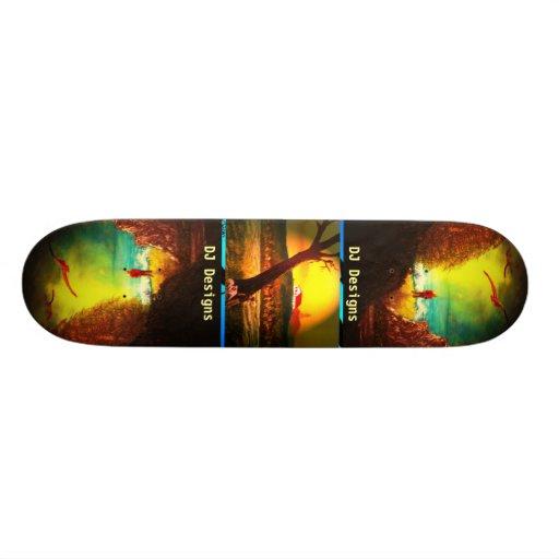 DJ Designs Skateboard