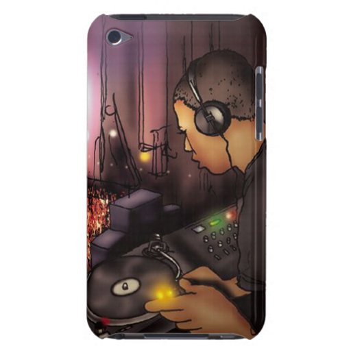 DJ Disc Jockey - iPod Touch Case Mate
