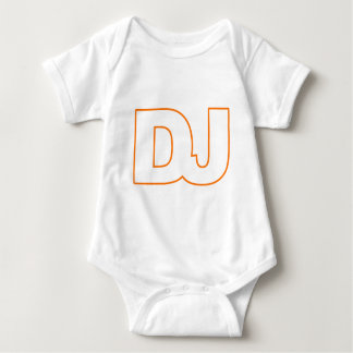 DJ - Disc Jockey, Music, Vinyl, Record, DJing Baby Bodysuit