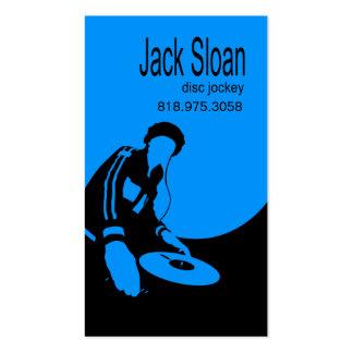 DJ Disc Jockey Turntable - Music Business Card