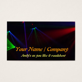 DJ Double sided  Business Card 6