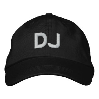 DJ EMBROIDERED HAT