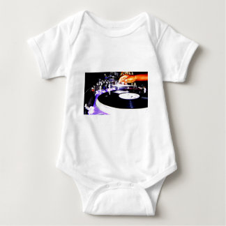 DJ Equipment Baby Bodysuit