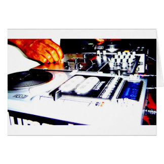 DJ Equipment (CDs) Card