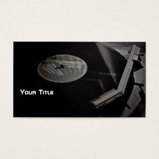DJ For 2 Time Business Card