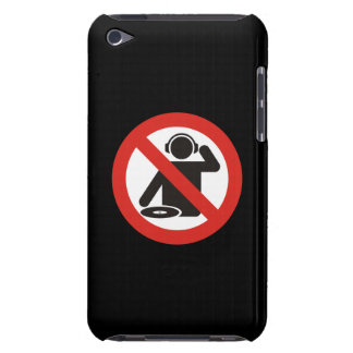 DJ free zone Barely There iPod Cases