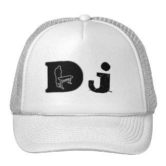 DJ Head Gear by Deneuralyzer Design Trucker Hats