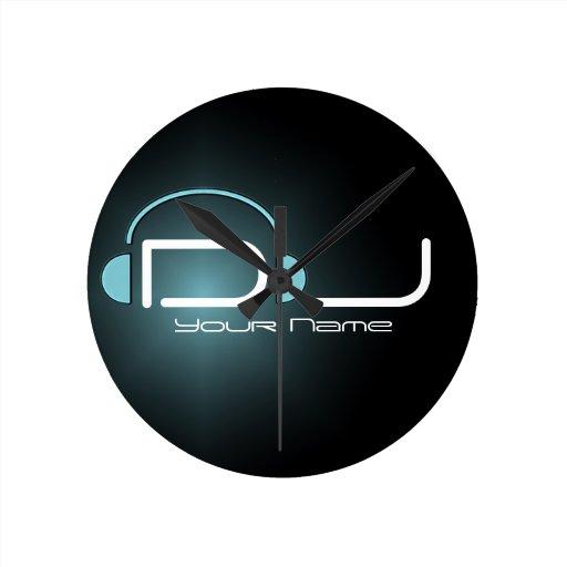 DJ Headphone Wall Clock