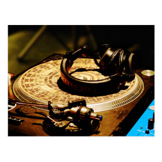 DJ Headphones1 Postcard