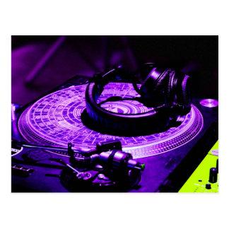 DJ Headphones 3 Postcard
