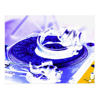 DJ Headphones 4 Postcard