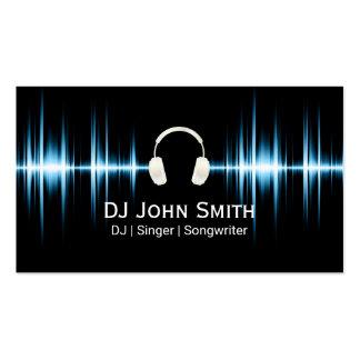 DJ Headphones Music Beat Pack Of Standard Business Cards