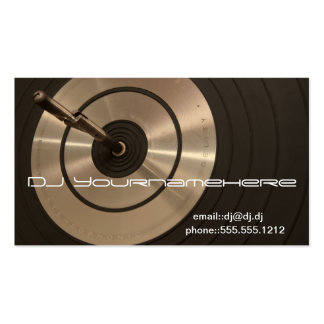 DJ HIFI PACK OF STANDARD BUSINESS CARDS