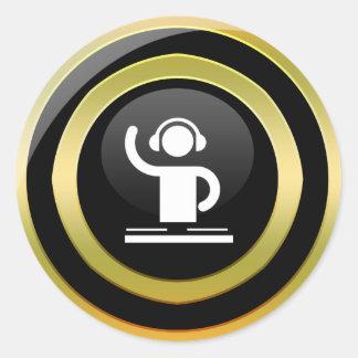 DJ icon sticker