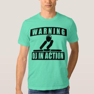 Dj In Action Tee Shirt