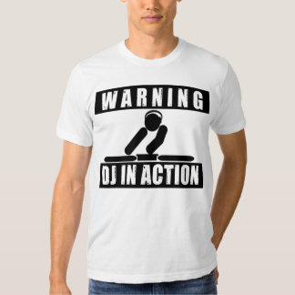DJ In Action Tshirt