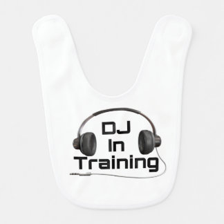 DJ In Training - Baby Bib