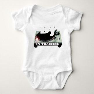DJ IN TRAINING Baby Jersey Bodysuit