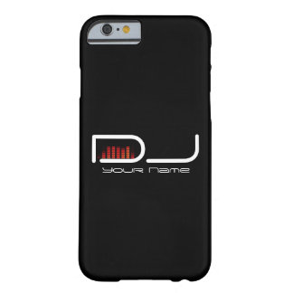 DJ iPhone 6/6s case with Equalizer Design Barely There iPhone 6 Case