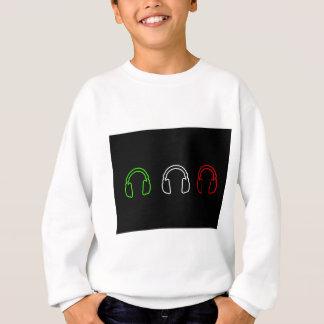 Dj Italian Flag Sweatshirt