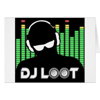 DJ Loot Card