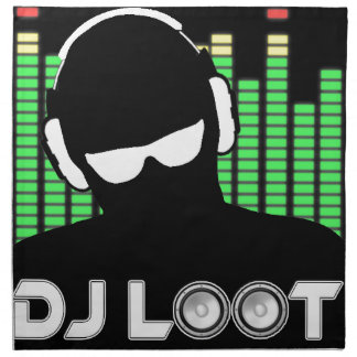 DJ Loot Cloth Napkin
