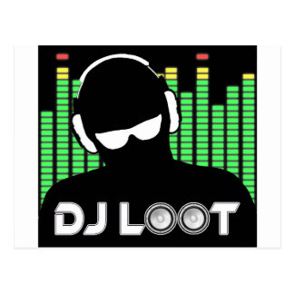DJ Loot Postcard