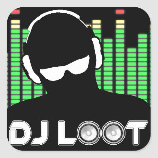DJ Loot Stickers