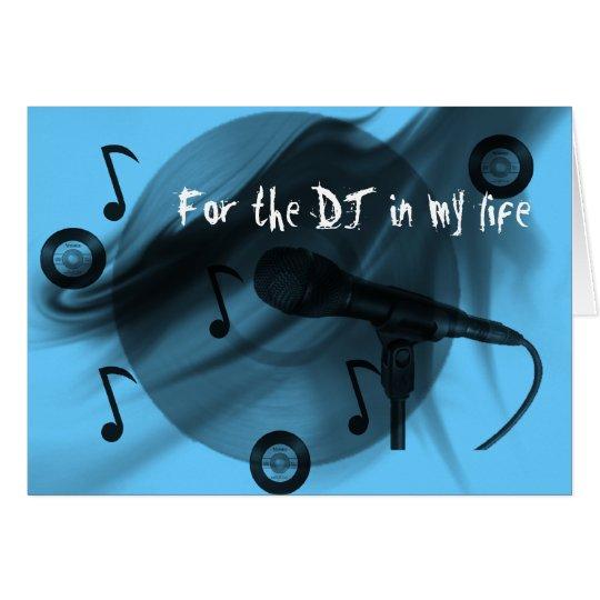 DJ Love Card