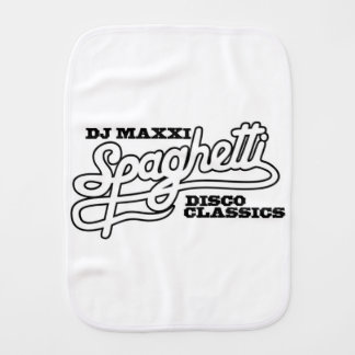 DJ MAXXI SPAGHETTI DISCO CLASSICS BURP CLOTH