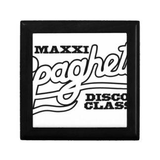 DJ MAXXI SPAGHETTI DISCO CLASSICS GIFT BOX